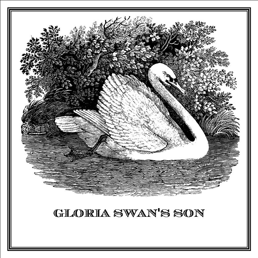 Zoomorphic' Greeting Card Gloria Swan's Son