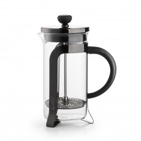 Coffee Maker - 2 Cup (350ml) - Shiny Black Or Silver