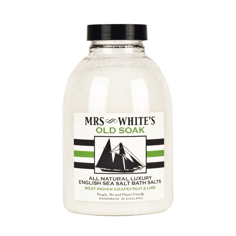 Mrs White's - Old Soak Finest English Bath Salts 600g