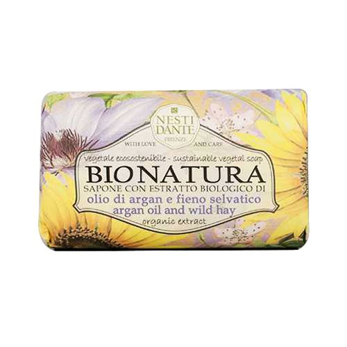 Nesti Dante Soap - Bionatura - Argan Oil and Wild Hay