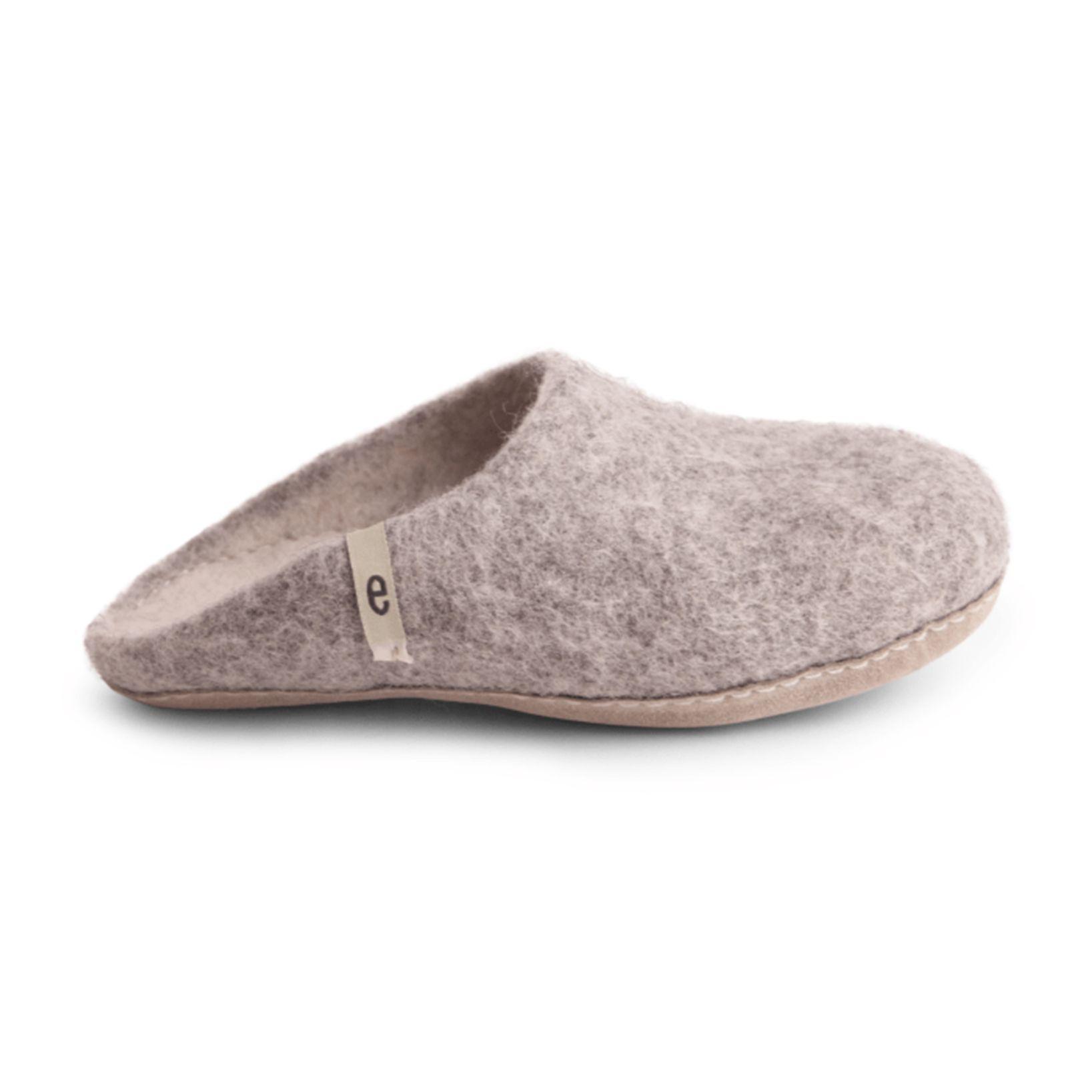 1d986cff2da7e Women s Wool Slippers - Grey
