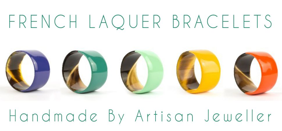 French Laquer Bracelets banner